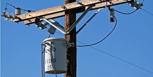 A Los Angeles power transformer.